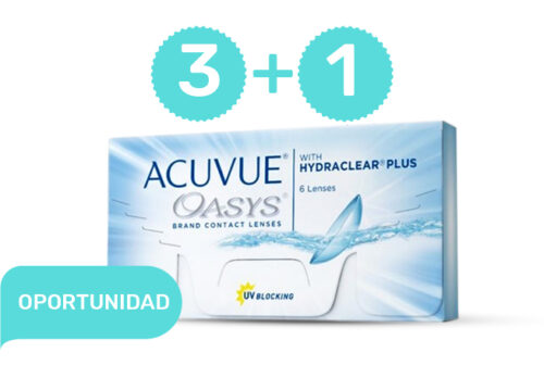 PROMO 3+1 ACUVUE OASYS Hydraclear Plus